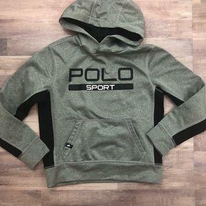 POLO RALPH LAUREN SPORT small gray sweatshirt